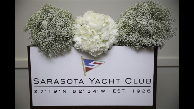 Sarasota yacht club wedding photography