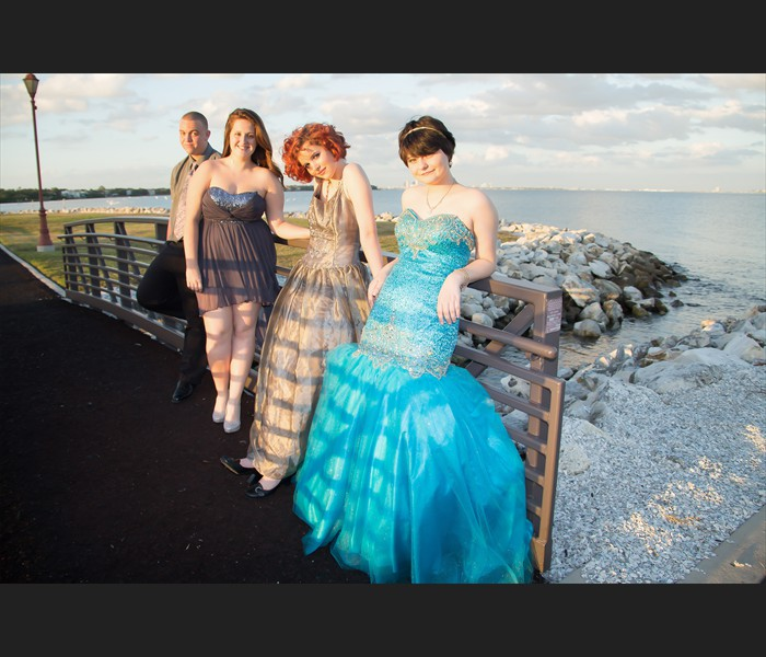 Quinceanera Photography at Macdill Airforce Base