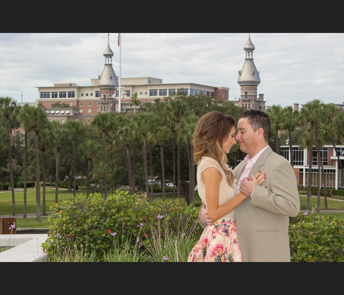 University of Tampa Engagement Photography