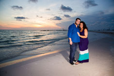 sand key beach, engagement photography, tampa photographer, professional engagement photography sand key beach,