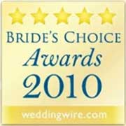 Wedding Wire Brides Choice Award 2010
